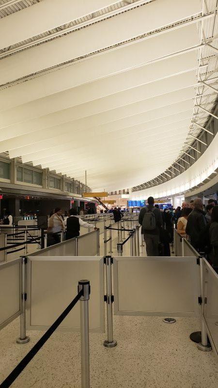travel empty jfk airport lobby coronavirus