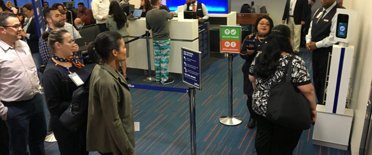 jetblue customer experience post covid travel airport biometrics