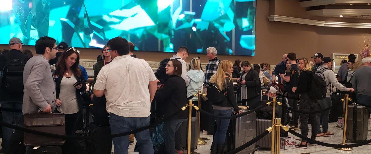 Casino Experience Long lines Petrova