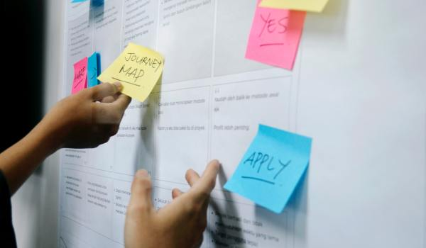 journey mapping wall